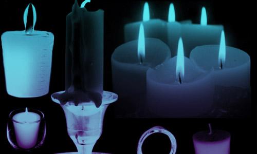 candle photoshop brushes