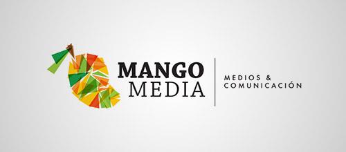 mango media logo design