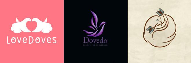 30 Smart Dove Logo Designs You Should See