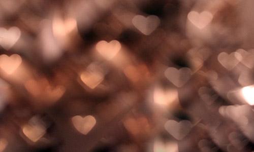 free maroon heart bokeh texture