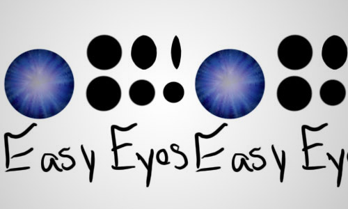 free easy eye photoshop brush
