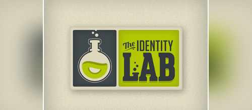 identity lab tube logo design