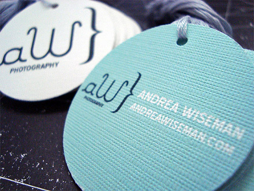 andrea wiseman business card textured