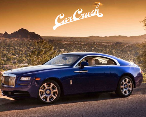 car crush automotive website design