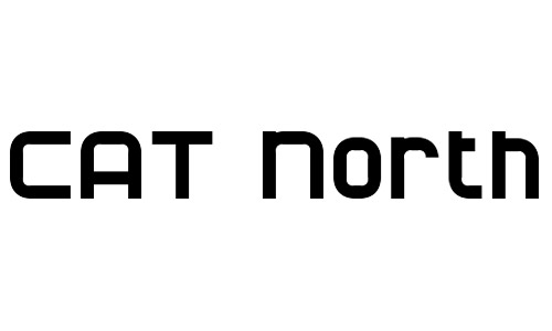 cat north bold fonts