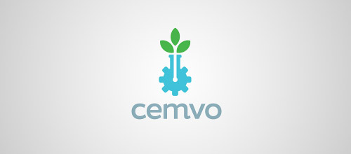 cemvo tube logo design