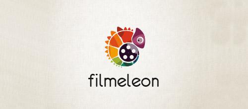 filmeleon logo design