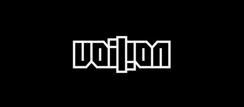 voilion ambigram logo design