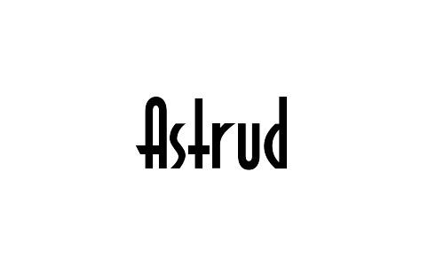 free astrud bold font