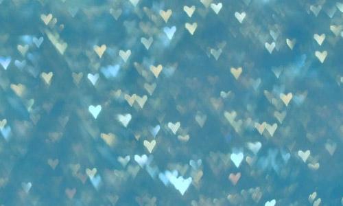 heart blue free texture bokeh