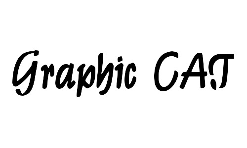 graphic cat free bold fonts