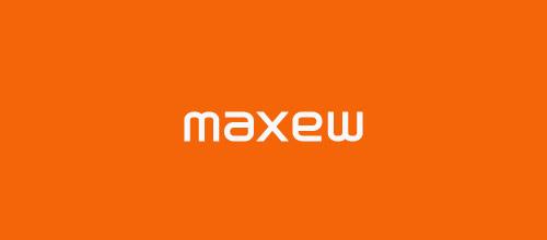 maxew ambigram logo