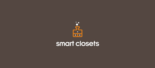 smart closets tube logo designs