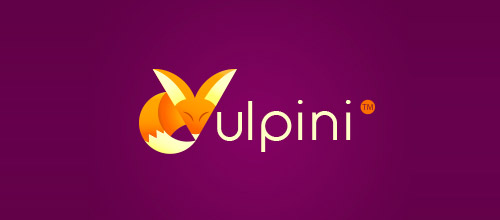 vulpine fox logo design
