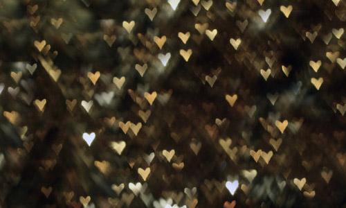 heart bokeh texture free