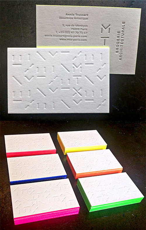 30 creative examples of textured business cards naldz graphics neon textured business card colourmoves