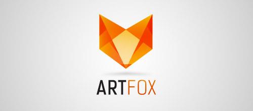 artfox logo design