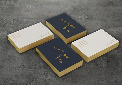 aydee gold business card