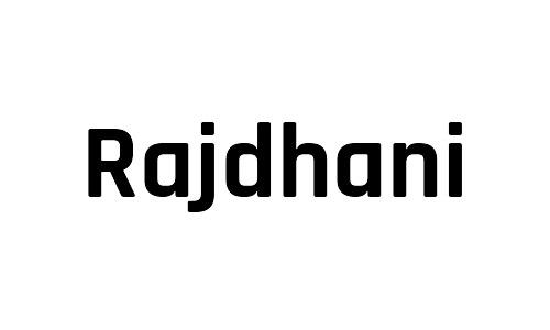 rajdhani free bold fonts