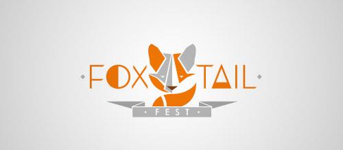 foxtail fest logo design