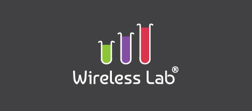 wireless lab tube logo
