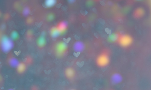 cute light free heart bokeh texture