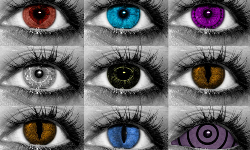 free random eye photoshop brushes