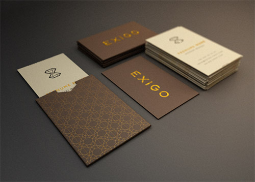 exigo business card