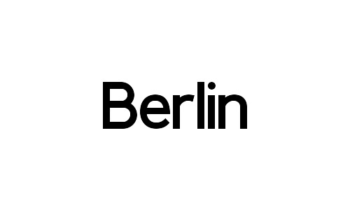 berlin free bold fonts