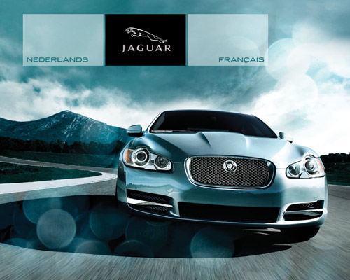 jaguar automotive website design