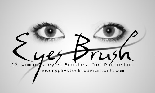 free eyes photoshop  brushes
