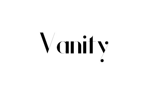vanity free bold fonts