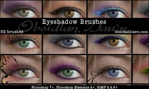 eyeshadow photoshop brushes free