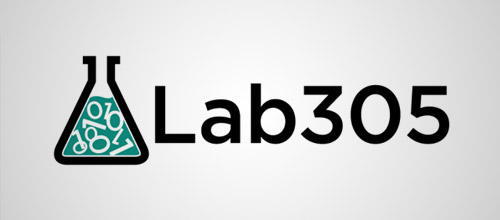 lab305 logo design