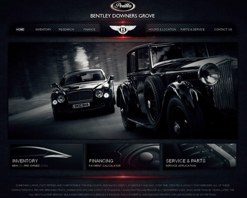 Bentley downer grove car website