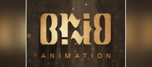 brio ambigram logo design