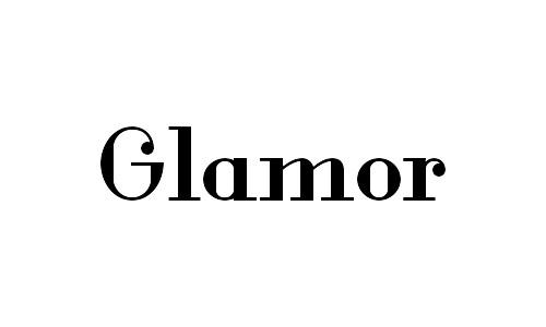 glamor free bold fonts