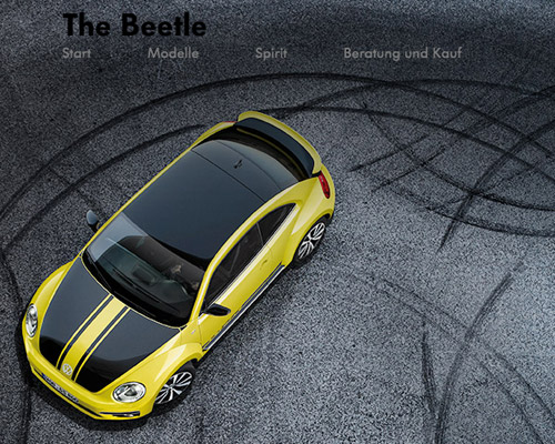 beetle automobile website