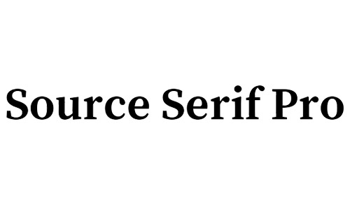 source serif pro free bold fonts
