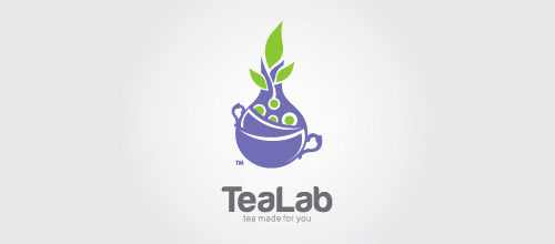 tealab tube logo design