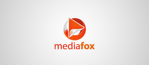 media fox logo design