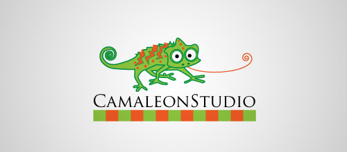 cameleonstudio logo design