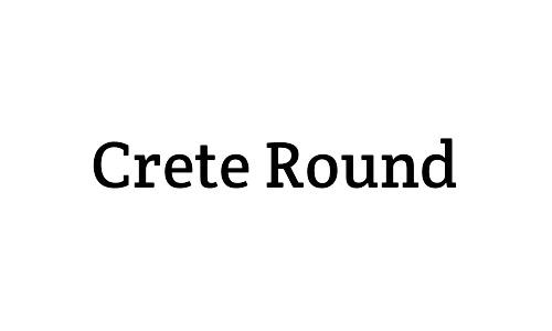 crete round free bold fonts