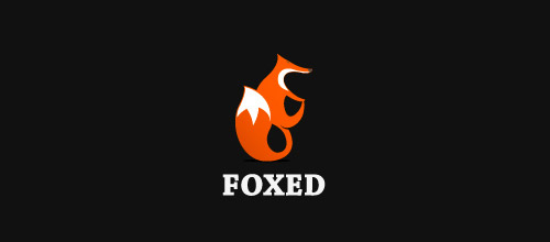 foxed logo design