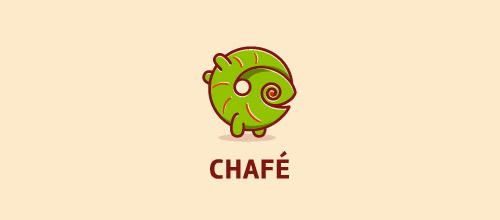 chafe chameleon logo design