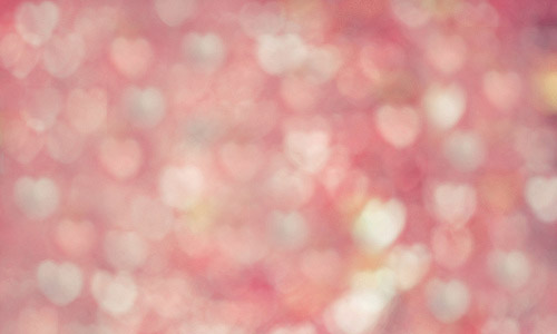 romantic heart bokeh texture free