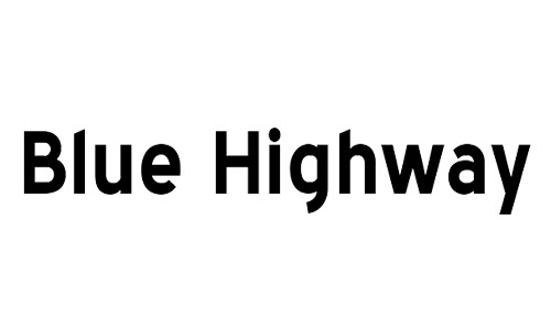 blue highway free bold fonts