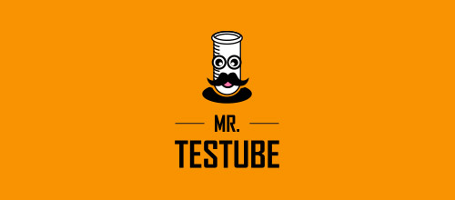 mr test tube logo
