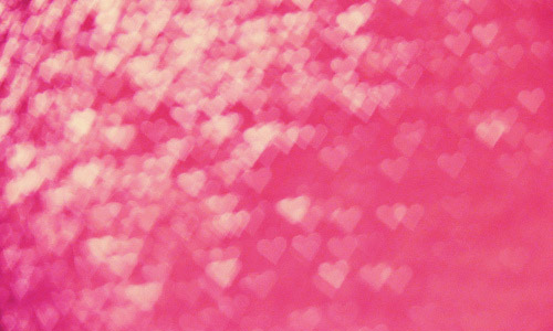 pink free heart bokeh texture