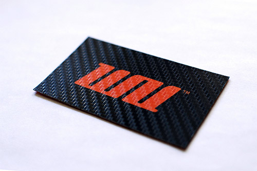 wrapup textured business card